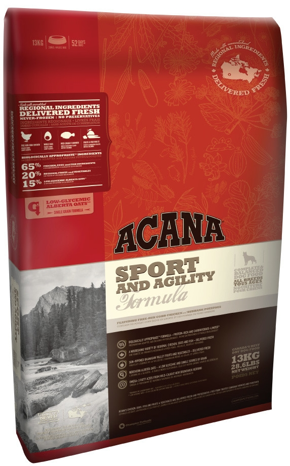 Acana Dog Sport Agility heritage 17 kg