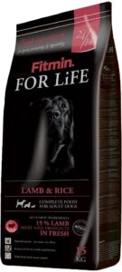 Fitmin Dog for Life Dog Adult Lamb & Rice 15 kg