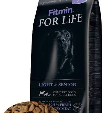 Fitmin Dog for Life Dog Light & Senior 15 kg
