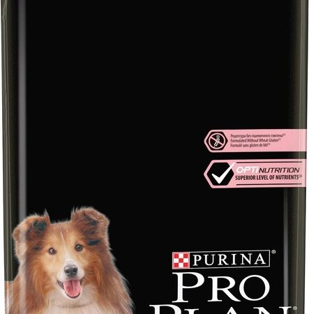 PURINA PRO PLAN Medium Adult Sensitive Skin OPTIDERMA s lososem